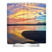 Infinite Possibility Shower Curtain
