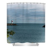 Irondequoit Outlet Shower Curtain