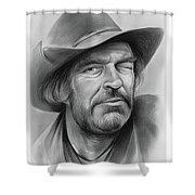 Jack Elam Shower Curtain
