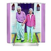 Jane And Sherwood Shower Curtain