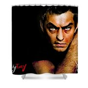Jude Law Shower Curtain