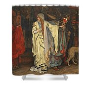 King Lear  Act I  Scene I  Shower Curtain