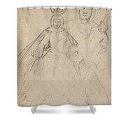 La Virgen Del Buen Suceso   Shower Curtain