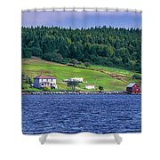 Lahave, Nova Scotia Shower Curtain