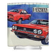 Lancia Beta 1300 Shower Curtain