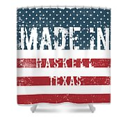 Made In Haskell, Texas Shower Curtain