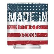 Made In Netarts, Oregon Shower Curtain