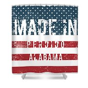 Made In Perdido, Alabama Shower Curtain