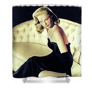 Martha Hyer, Vintage Actress Shower Curtain