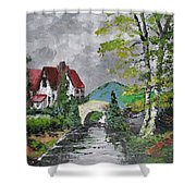 Melody Of A Dream Shower Curtain