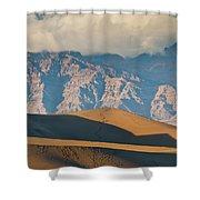 Mesquite Flat Sand Dunes At Sunset Shower Curtain