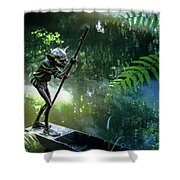 Messing About On The River Shower Curtain