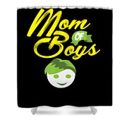 Mothers Day Mothersday Best Mom Gift Shower Curtain