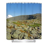 Mount Washington - New Hampshire, White Mountains Shower Curtain by Erin Paul Donovan