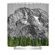 Mountain Rising Shower Curtain
