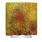 My Colorful World Shower Curtain