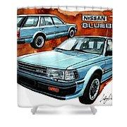Nissan Bluebird Sw Shower Curtain
