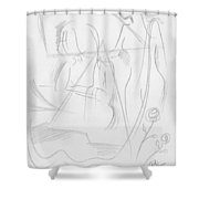 Now Get Up Shower Curtain