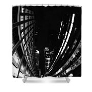Nyc In Black And White Vii Shower Curtain