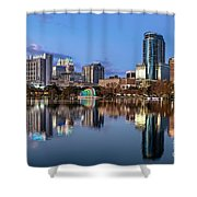 Orlando Skyline Shower Curtain
