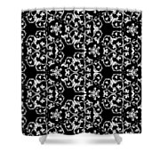 Ornate Pattern Drawing Shower Curtain
