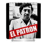 Pablo Escobar Shower Curtain