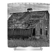 Palouse Barn 9933 Shower Curtain