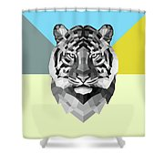 Party Tiger Shower Curtain