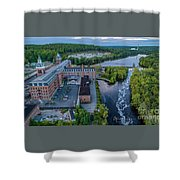 Ponemah Mill Shower Curtain