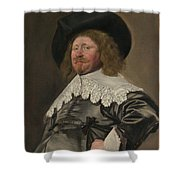 Portrait Of A Man  Possibly Nicolaes Pietersz Duyst Van Voorhout  Shower Curtain