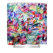 Pphz13 Shower Curtain