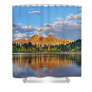 Ruby Range, Lost Lake Slough, Colorado Shower Curtain