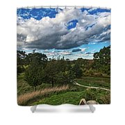 Sagamore Hill Shower Curtain