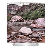Salt River Canyon Arizona Shower Curtain