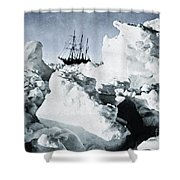 Shackleton Expedition Shower Curtain by Granger