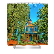 Small House Shower Curtain