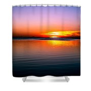 Spectacular Sunset Shower Curtain