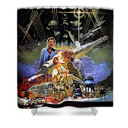 Star Wars The Empire Strikes Back Shower Curtain