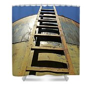 Steps To The Sun Shower Curtain
