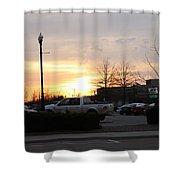 Sunset 7 Shower Curtain