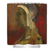 Symbolic Head, 1890 Shower Curtain