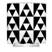 T S 19 Shower Curtain