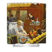 Tables For Ladies  Shower Curtain