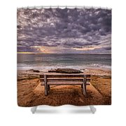 The Bench 2019 Edit Shower Curtain