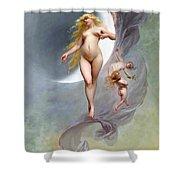 The Planet Venus Shower Curtain