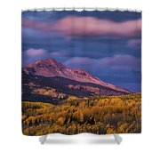 The Whisper Of Clouds Shower Curtain by John De Bord