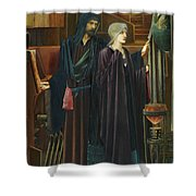 The Wizard Shower Curtain