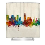 Utrecht The Netherlands Skyline Shower Curtain