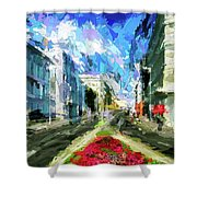 Vienna Austria Shower Curtain