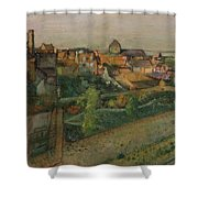 View Of Saint Valery Sur Somme  Shower Curtain
